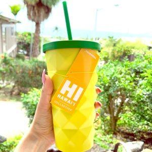 Starbucks limited edition Hawai'i tumbler